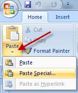 mla format word document