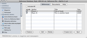 Apa Style Writing Software For Mac Reference Point Software