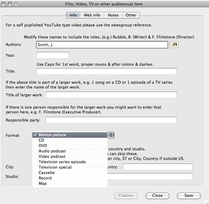 Quote Apa: APA Formatting Software For Mac